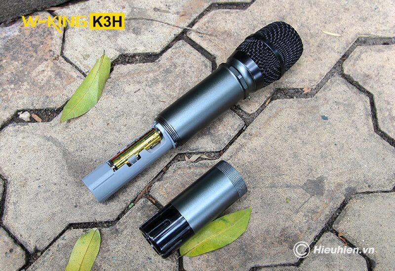 w-king k3h - loa hát karaoke xách tay công suất lớn 100w - hình 14