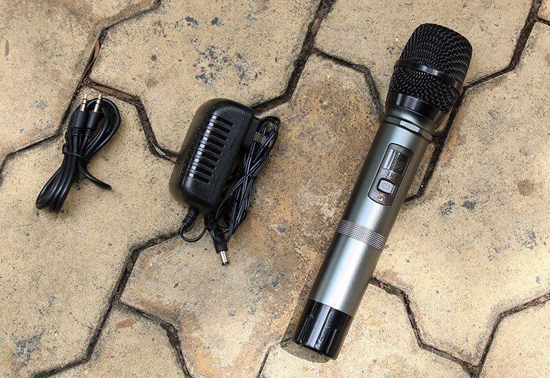 w-king k3h - loa hát karaoke xách tay công suất lớn 100w - hình 15