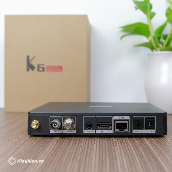 android tv box mecool k6 tích hợp đầu thu truyền hình dvb-s2-t2-c - hình 04