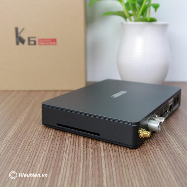 android tv box mecool k6 tích hợp đầu thu truyền hình dvb-s2-t2-c - hình 05