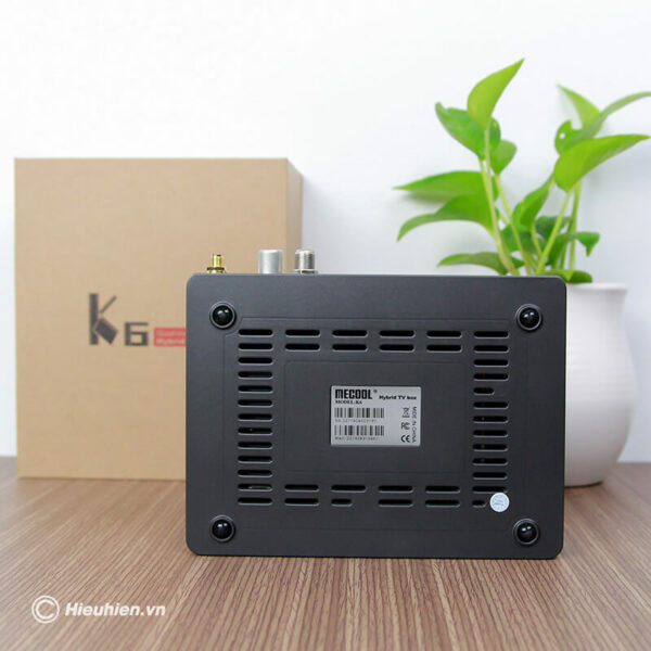 android tv box mecool k6 tích hợp đầu thu truyền hình dvb-s2-t2-c - hình 08