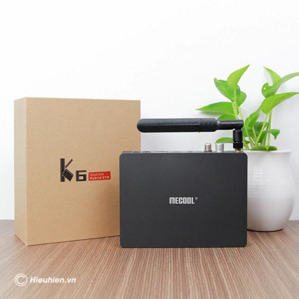 android tv box mecool k6 tích hợp đầu thu truyền hình dvb-s2-t2-c - hình 09
