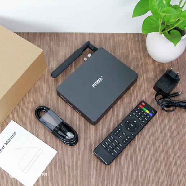 android tv box mecool k6 tích hợp đầu thu truyền hình dvb-s2-t2-c - hình 10