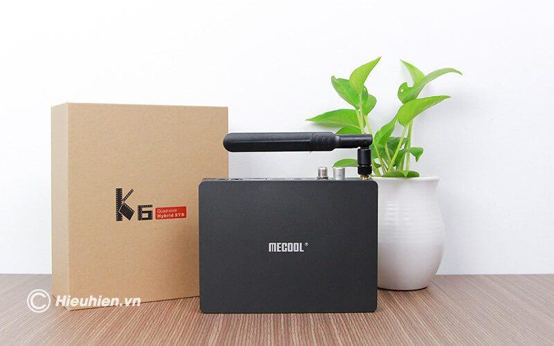 android tv box mecool k6 tích hợp đầu thu truyền hình dvb-s2-t2-c - hình 11