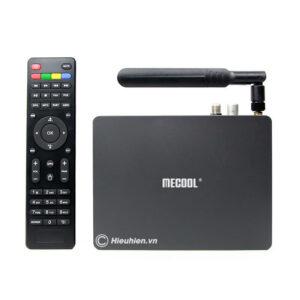 android tv box mecool k6 tích hợp đầu thu truyền hình dvb-s2-t2-c
