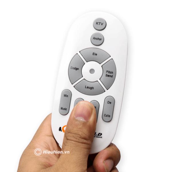 sound card aqta v9 plus - card âm thanh chỉnh âm khi thu âm bài hát, phát livestream, hát karaoke - hình 03