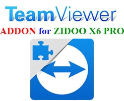 Addon Team Viewer Quick Support for ZIDOO X6 PRO - Tải về APK - Ứng dụng Android TV Box