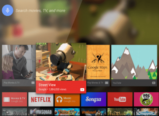 Android TV Leanback Launcher - Tải về APK - Ứng dụng Android TV Box