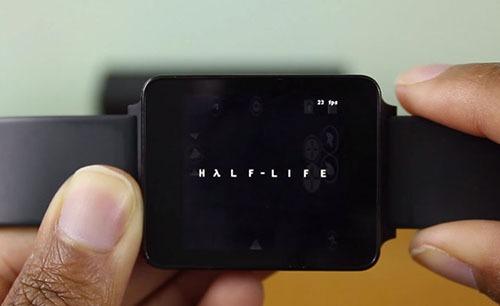 Chơi Half-Life trên đồng hồ thông minh LG G Watch