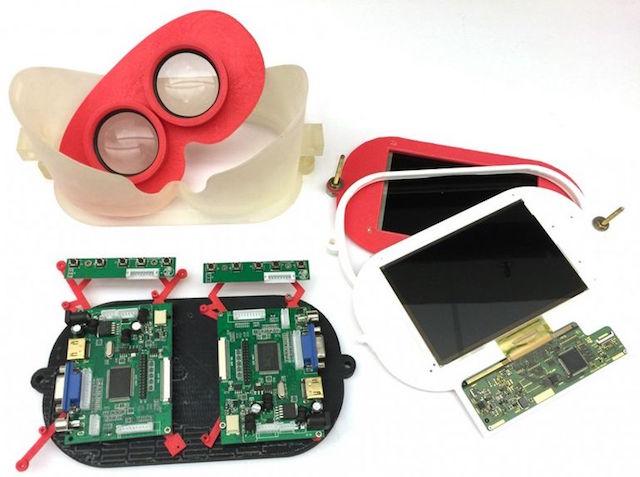 Đại học Stanford phát triển kính thực tế ảo trường ánh sáng