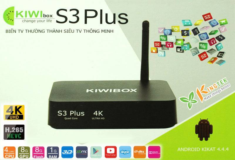 Firmware Android TV Box Kiwi S3 Plus