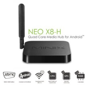 Firmware Android TV Box Minix Neo X8 X8H X8 Plus