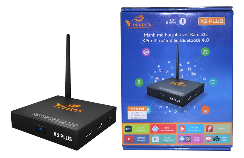 Firmware Android TV Box Vinabox X3 Plus