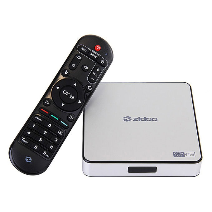 Firmware Android TV Box ZIDOO X6 PRO