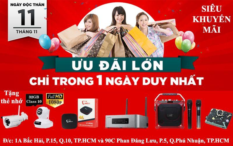 Flash Sale 11.11 - Khuyến mãi khủng - Ngập tràn quà tặng