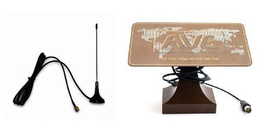 Giá một số loại Anten thu truyền hình số DVB-T2 tốt nhất