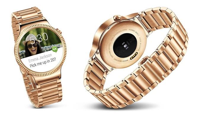 Huawei để lộ smartwatch mạ vàng siêu cao cấp, dùng được với iOS