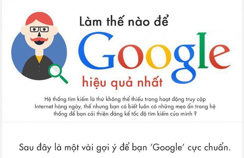 Thủ thuật tìm kiếm trên Google hiệu quả nhất