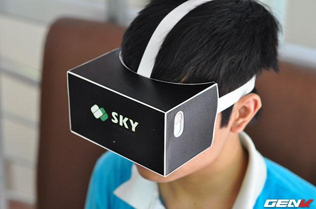 Khám phá kính thực tế ảo Sky VR Made in Việt Nam