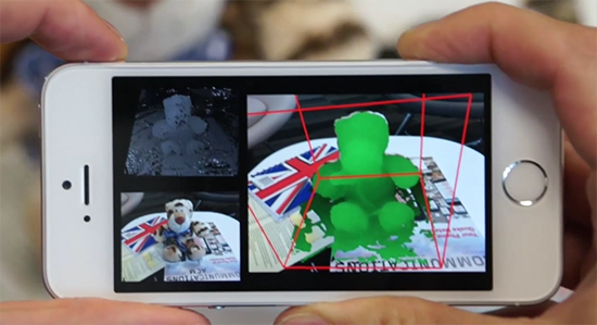 microsoft phat trien ung dung mobilefusion quet vat the 3d cho smartphone