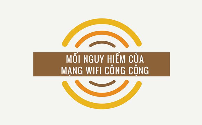 Những mối nguy hiểm tiềm ẩn khi dùng WiFi công cộng