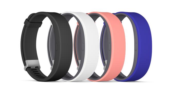 Sony ra mắt SmartBand 2, tích hợp cảm biến nhịp tim