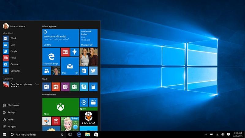 Windows 10 chính thức ra mắt trên toàn cầu 8