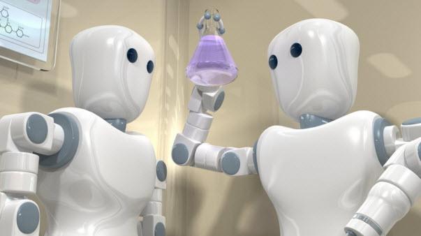robot than thien giup viec cho gia dinh va cong ty
