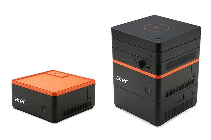 Acer Revo Build: máy tính hộp có khả năng mở rộng tính năng bằng cách xếp hình