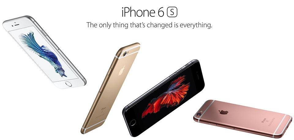 Apple chính thức ra mắt iPhone 6S và iPhone 6S Plus
