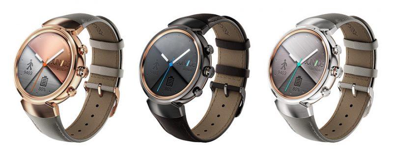 Asus ra mắt smartwatch mặt tròn Asus ZenWatch 3