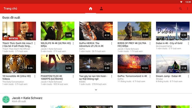 Cách xem video YouTube 1080p và 1440p trên Android TV Box