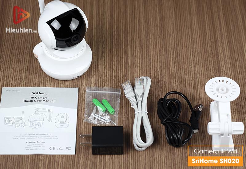 camera ip wifi srihome sh020 độ phân giải full hd 1080p - hình 16