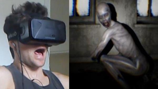 Chơi Game kinh dị trên kính thực tế ảo Oculus Rift thật rùng người
