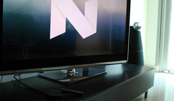 nexus player da duoc cho phep cap nhat android tv nougat (7.0) - con tv se phai doi them it lau