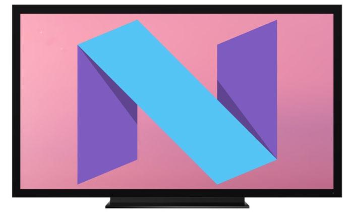 da co android 7.0 nougat cho nexus player, cac tv android khac se duoc cap nhat sau