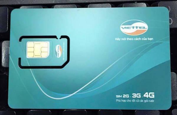 Đã có thể đổi SIM 4G của Viettel trên khắp mọi tỉnh thành
