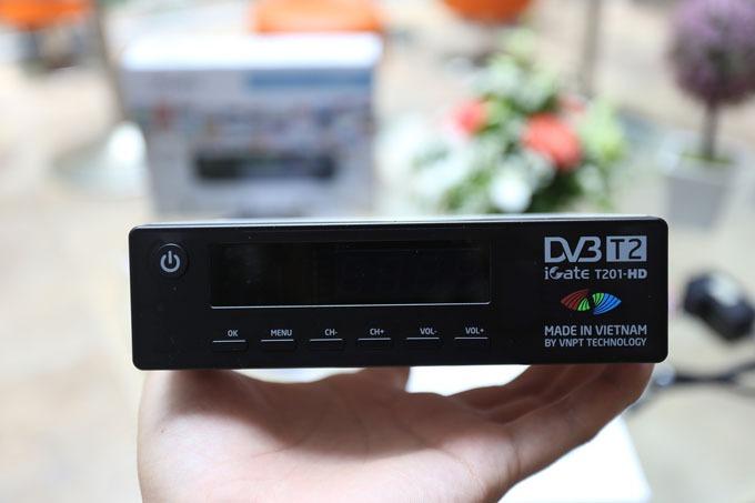 Đánh giá đầu thu DVB-T2 iGate T201HD của VNPT Technology
