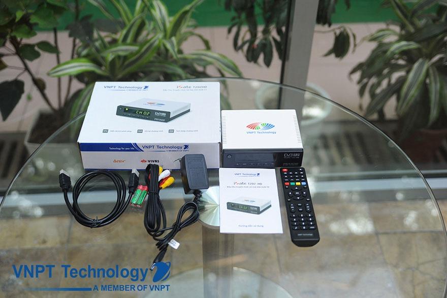 Đánh giá đầu thu DVB-T2 iGate T202HD của VNPT Technology