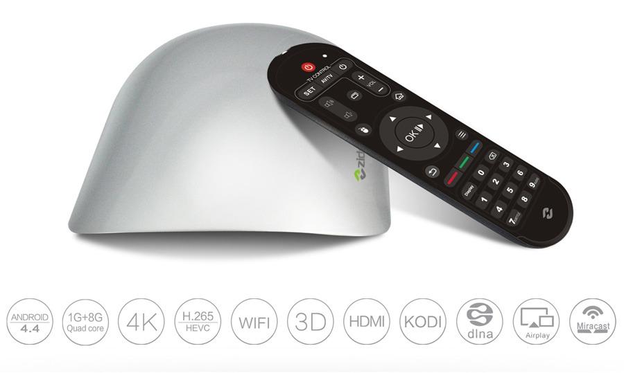 Đánh giá nhanh Zidoo X1 Android TV Box chất lượng tốt giá rẻ