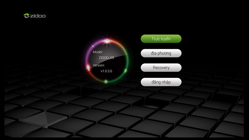 zidoo x9 android tv box: zidoo x9 cap nhat firmware moi tu dong qua ota