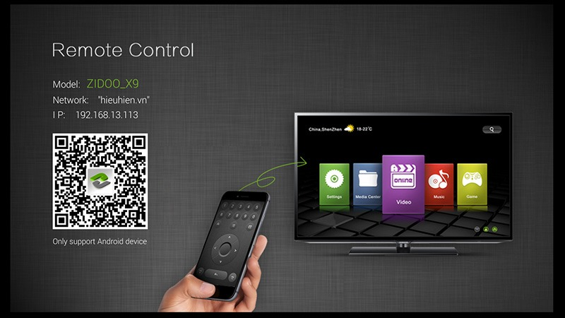 zidoo x9 android tv box: