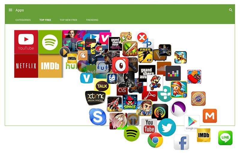 zidoo x9 android tv box: tai bat ki ung dung giai tri nao ho tro tu google play (ch play)