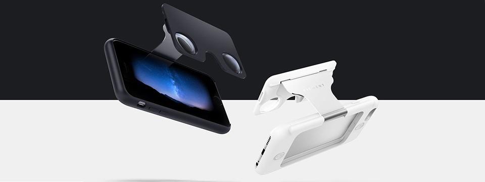 Figment VR: Vỏ bảo vệ kiêm kính thực tế ảo VR cho iPhone