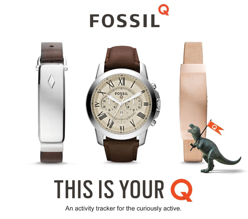 fossil ra mat 1 smartwatch, 1 dong ho co tich hop fitness tracker, 2 vong deo thong minh