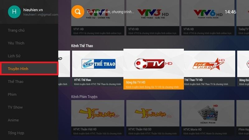 ung dung fpt play cho android tv box ung dung xem truyen hinh hang dau