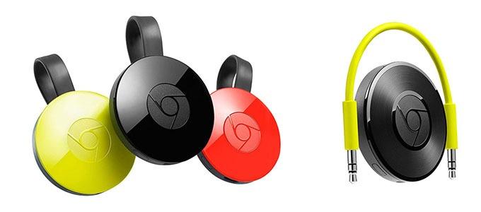 Google chính thức ra mắt Chromecast 2 với thiết kế mới