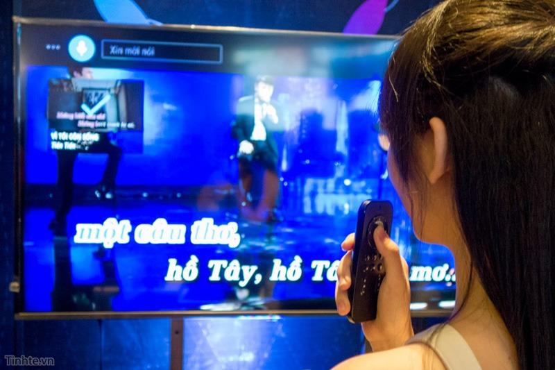 hanet ra mat dau karaoke android playx one dieu khien bang giong noi 04