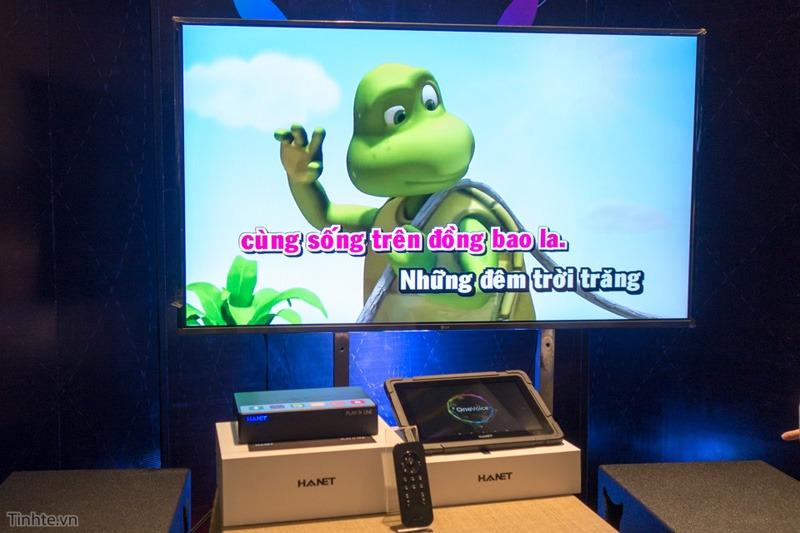 HANET ra mắt đầu karaoke Android điều khiển bằng giọng nói