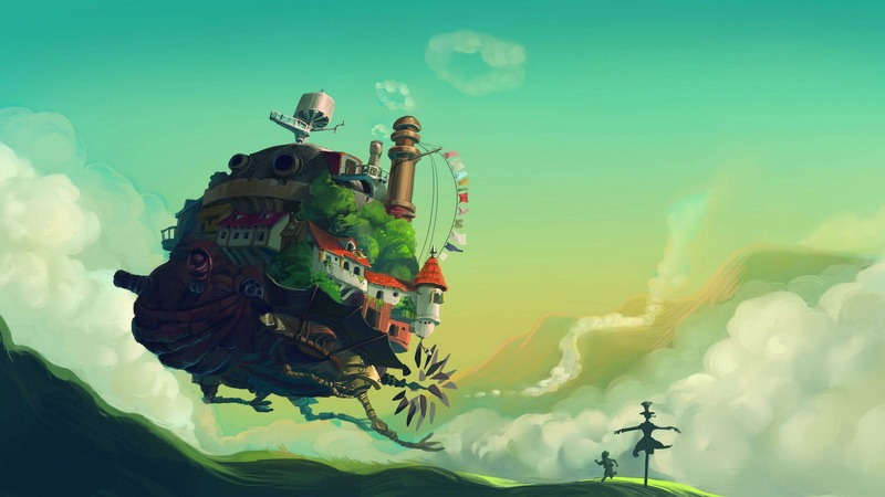 Hoạt hình Ghibli xuất hiện ở định dạng VR, góc xem 360 độ